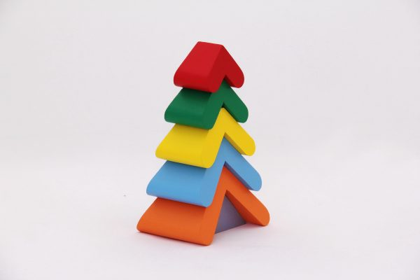"Пирамидка ""Цветная елочка""-0"