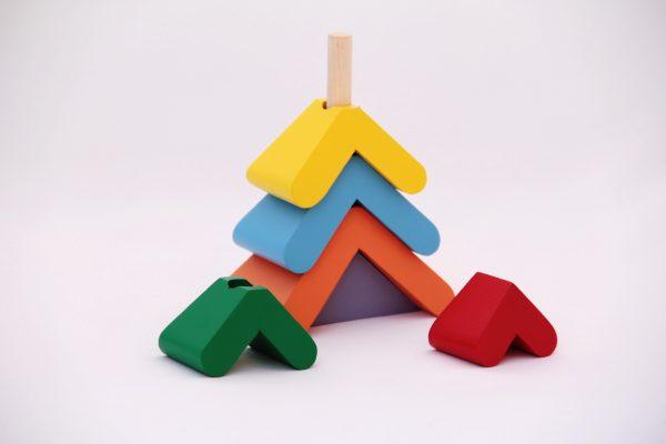 "Пирамидка ""Цветная елочка""-834"