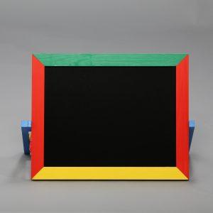 М403 Доска магнитная для рисования мелом и фломастером (настольная)-0