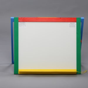 Доска магнитная для рисования мелом и фломастером + мольберт (настольная / навесная)-0