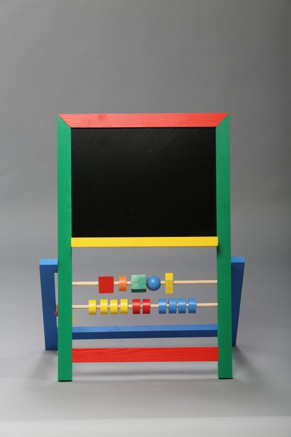 """Доска магнитная для рисования мелом и фломастером + мольберт (напольная). """"Малыш""""-626"""