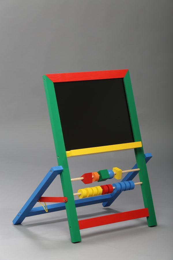 """Доска магнитная для рисования мелом и фломастером + мольберт (напольная). """"Малыш""""-627"""
