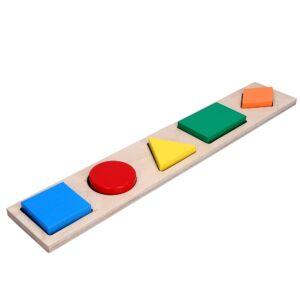 Розвиваюча іграшка Рамка вкладиш Геометричні фігури 5. A326 Komarovtoys