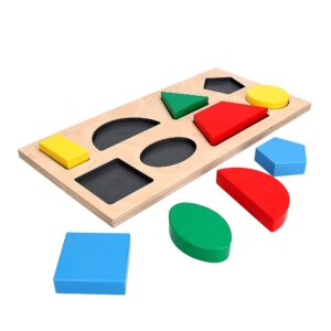 Развивающая игрушка Рамка вкладыш Геометрические фигуры 8. A327 Komarovtoys