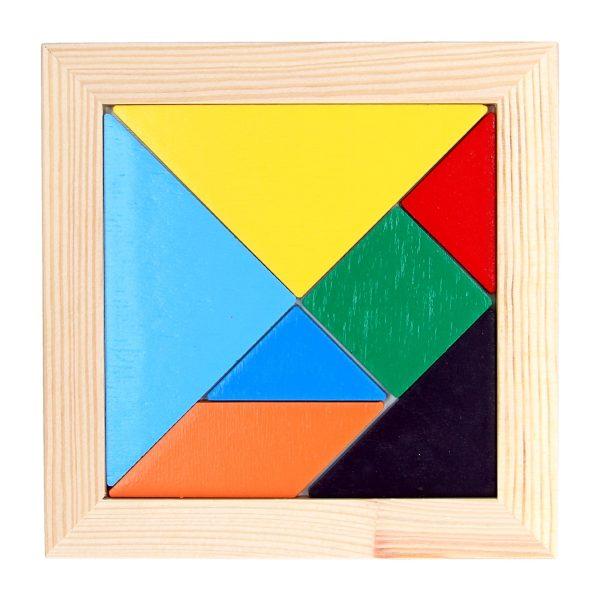 Деревяная развивающая игрушка Мозаика Танграм. А367 Komarovtoys