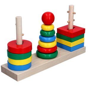 Дерев'яна розвиваюча іграшка Гра 3в1. А338 Komarovtoys