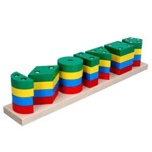 Дерев'яна розвиваюча іграшка Гра Гео XXL. А340 Komarovtoys