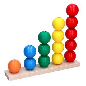 Розвиваюча іграшка Пірамідка Рахівничка Максі. А366 Komarovtoys