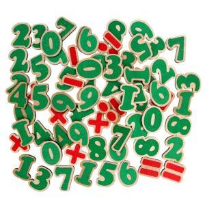 Розвиваюча іграшка Набір Цифри та знаки на магнітах 72 елементи. J706 Komarovtoys