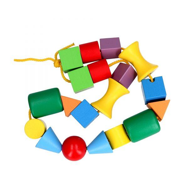 Educational toy K123. Lacing Beads Mini Komarovtoys