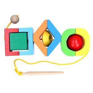 Розвиваюча іграшка К129. Шнуровка Фантазер Komarovtoys