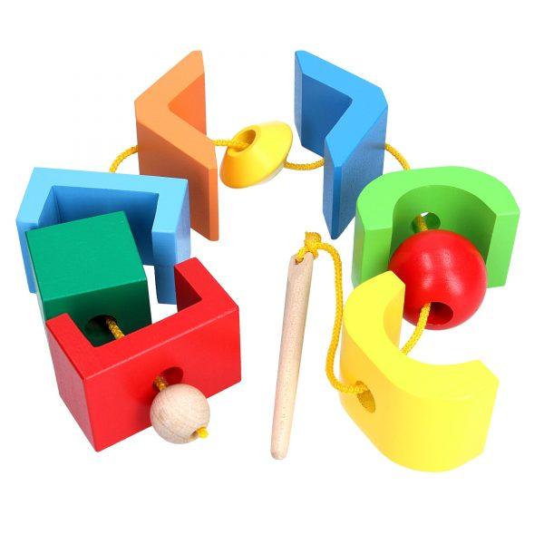 Educational toy K129. Lacing Fantasy Komarovtoys