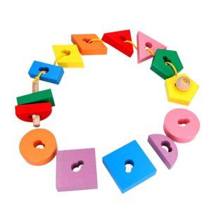 Educational toy K146. Lacing Key Komarovtoys