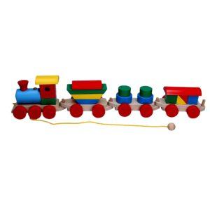 Розвиваюча іграшка Паровоз 3 вагони. Р202 Komarovtoys
