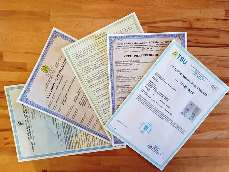 Certification quality Komarovtoys