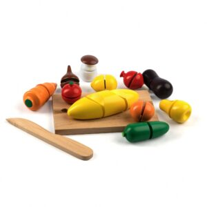 A339. Дерев'яна розвиваюча іграшка Набір. Маленький повар. Komarovtoys