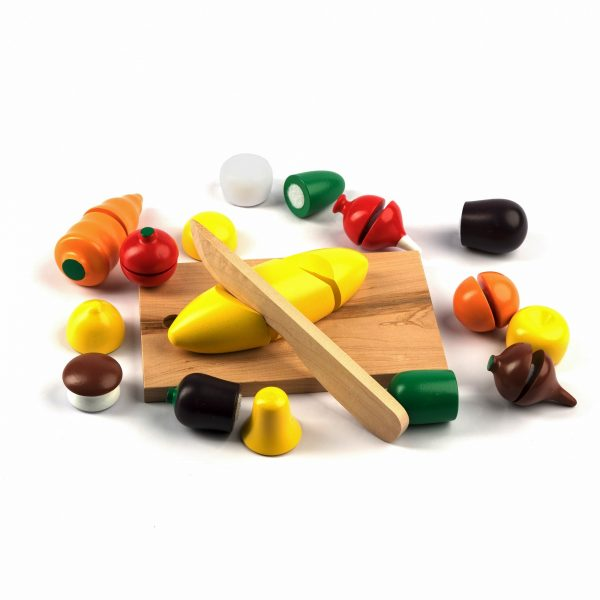 A339. Деревянная развивающая игрушка. Набор Маленький повар. Komarovtoys