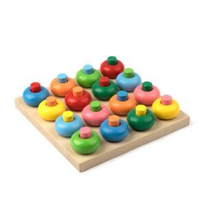 A362. Деревянная развивающая игрушка. Дидактическая игра Развивалочка. Komarovtoys