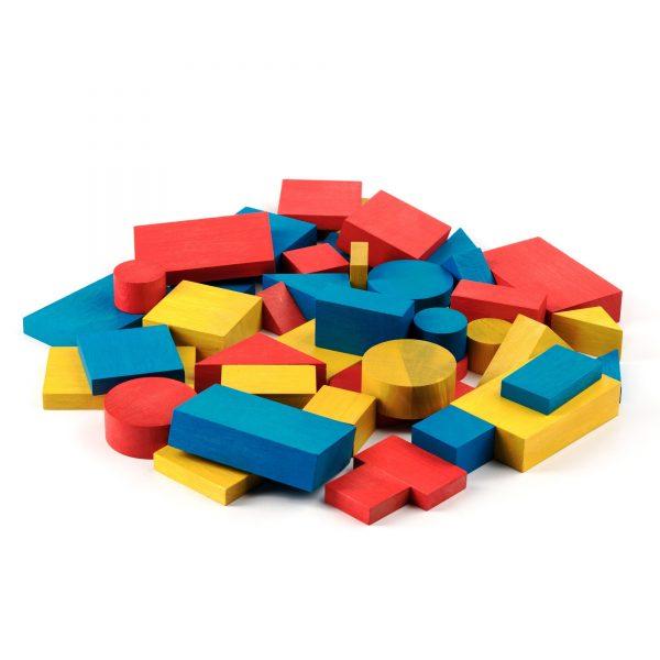 A378. Дерев'яна розвиваюча іграшка . Блоки Дьєніша . НУШ. Komarovtoys