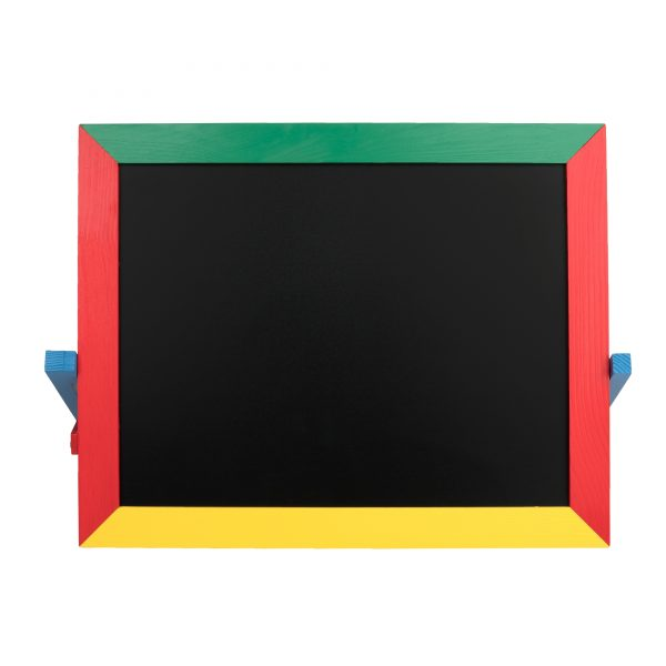 М403. Деревянная развивающая игрушка. Доска для рисования настольная. Komarovtoys