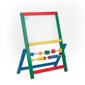 М420. Деревянная развивающая игрушка. Доска для рисования. Komarovtoys
