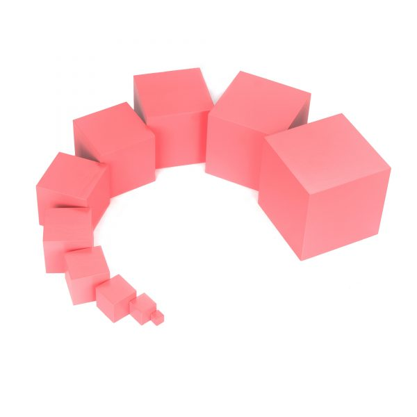 ММ0001. Деревянная развивающая игрушка. Розовая башня. Komarovtoys