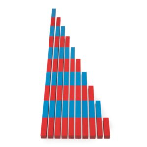 ММ0004. Дерев'яна розвиваюча іграшка Набір.Математичні штанги. Komarovtoys
