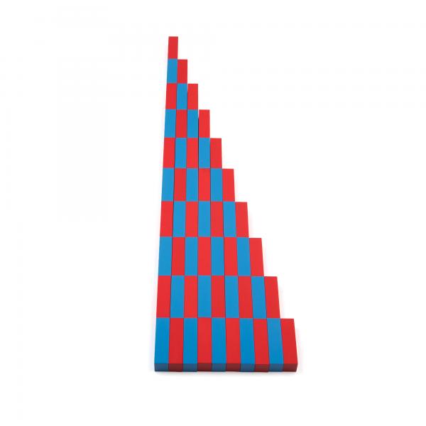 ММ0004. Деревянная развивающая игрушка. Математические штанги. Komarovtoys