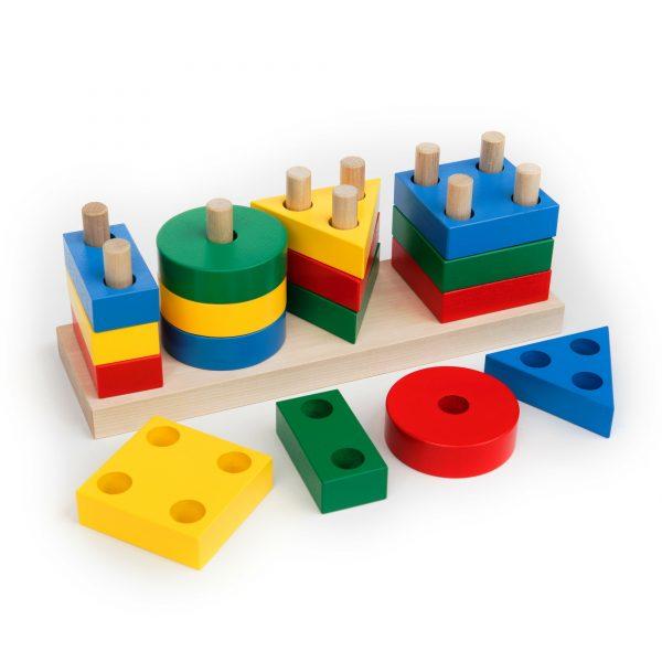 А311. Wooden educational aids. Komarovtoys