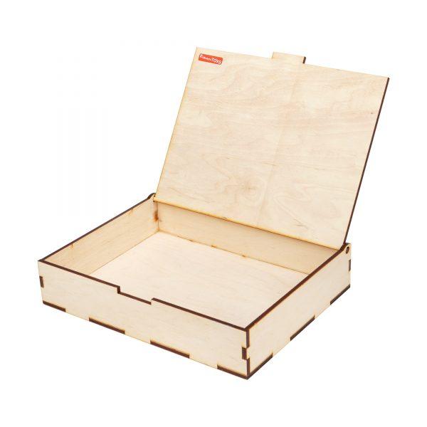 PLY BOX WHITE.KOMAROVTOYS