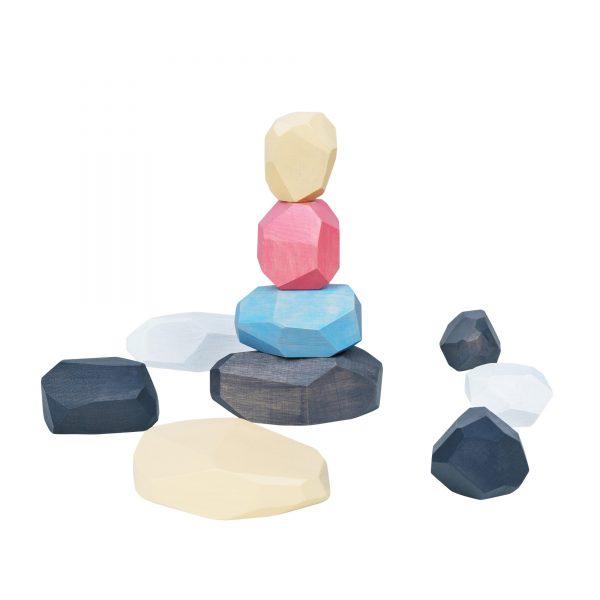 A383. Wooden educational aids. Stones Montessori Komarovtoys
